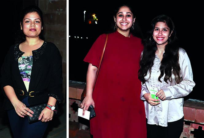 (L) Priyanka Agarwal (R) Varisha and Noor Fatima (BCCL/ Aditya Yadav)