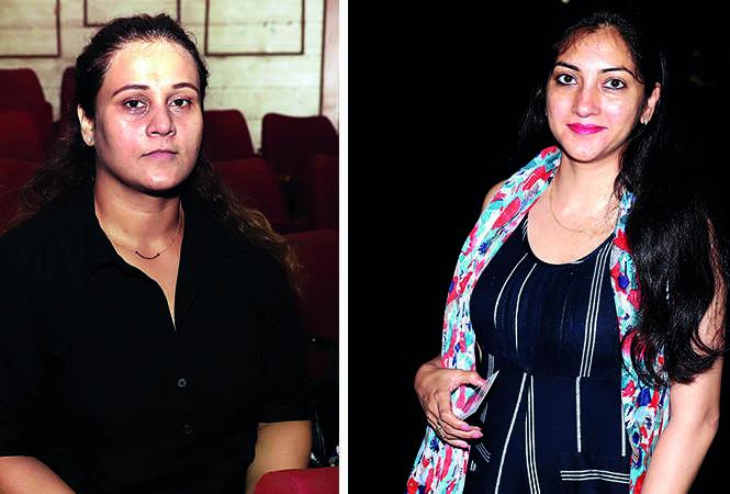 (L) Priyanka Sarkar (R) Priyanka Singh (BCCL/ Aditya Yadav)