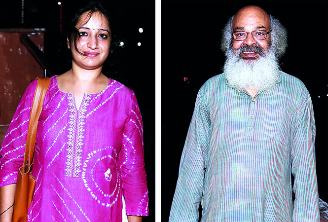 (L) Bhoomika Sharma (R) Surya Mohan Kulshreshtha (BCCL/ Aditya Yadav)