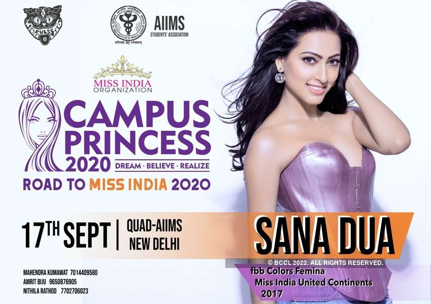 Campus Princess 2020 auditions at Pulse AIIMS Delhi