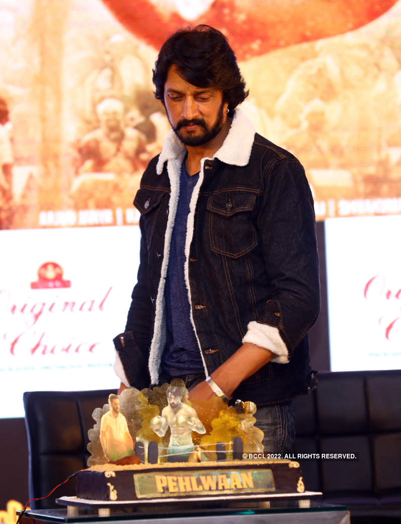 Pailwaan: Press meet