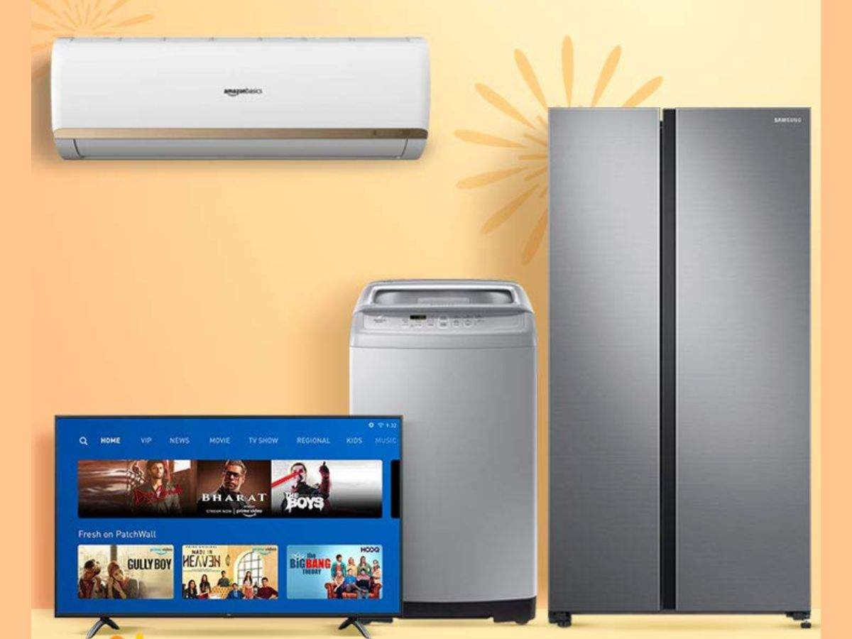 Amazon will offer up to 75% off on TVs and appliances during Great Indian Festival