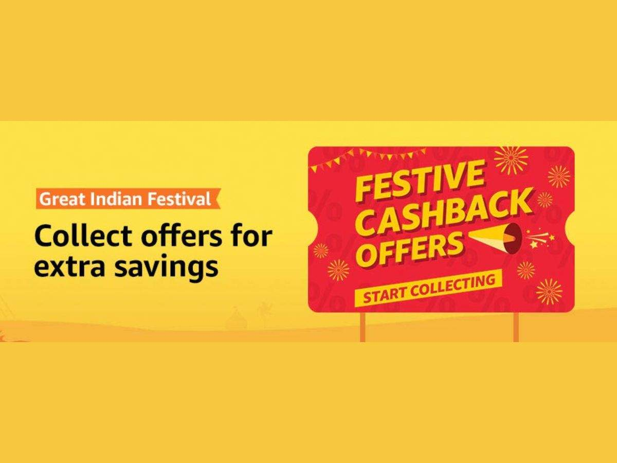 Amazon is giving 'festive cash back offers'