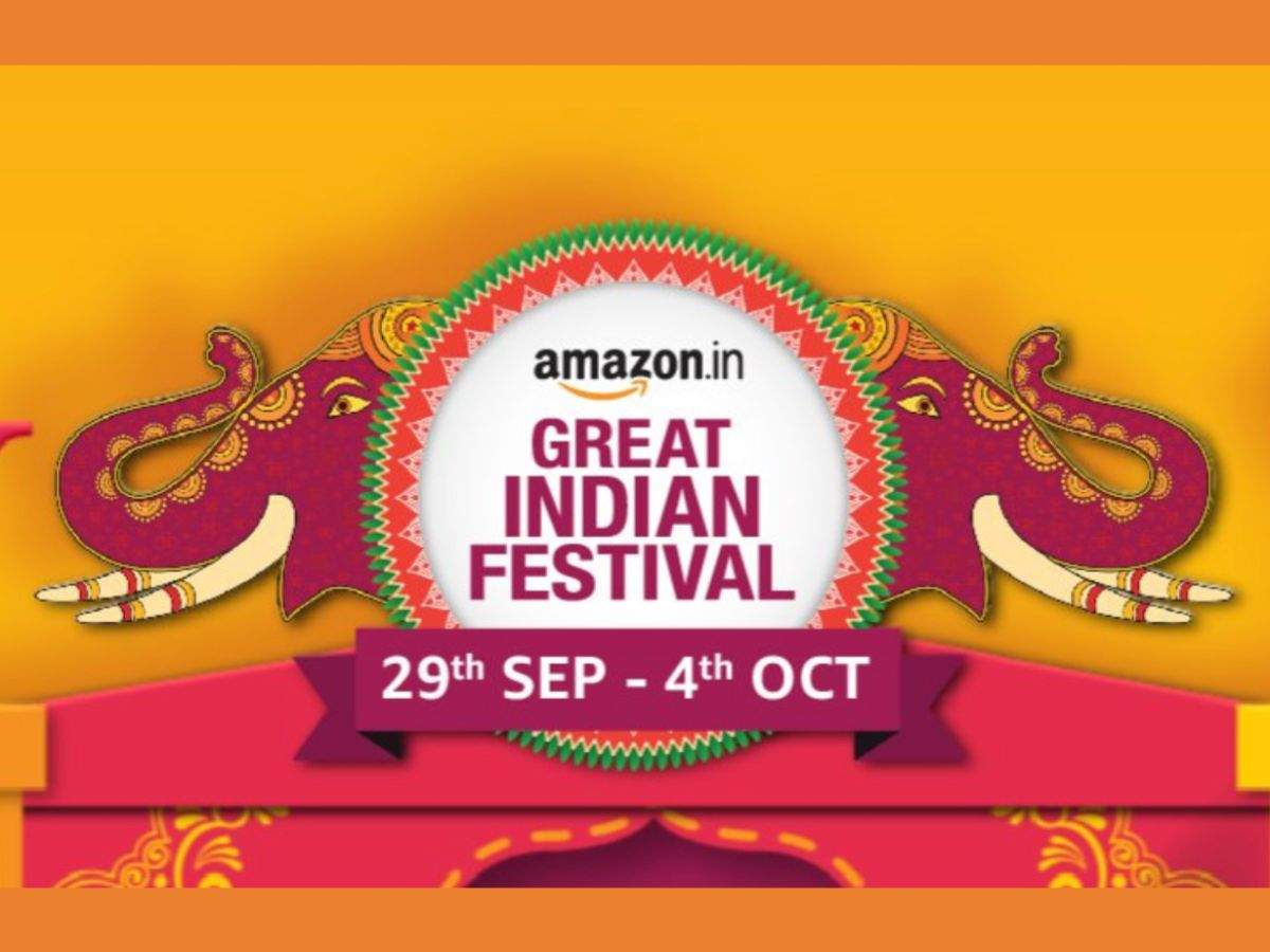Amazon Great Indian Festival sale 2019 announced: Dates, discounts and more