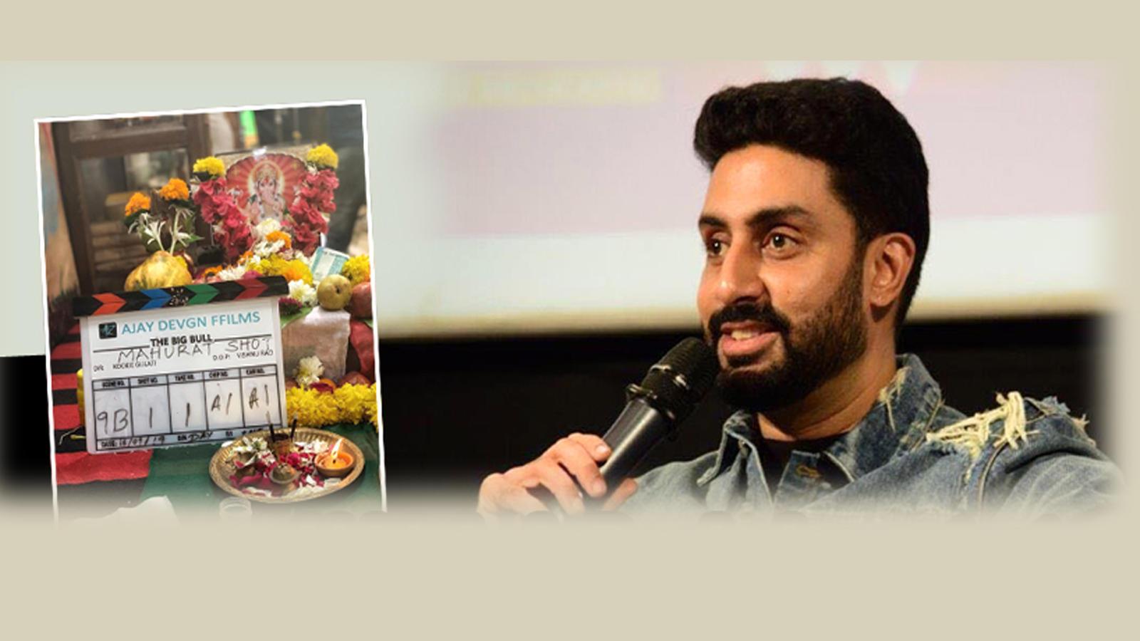 Abhishek Bachchan starts shooting for his next untitled film