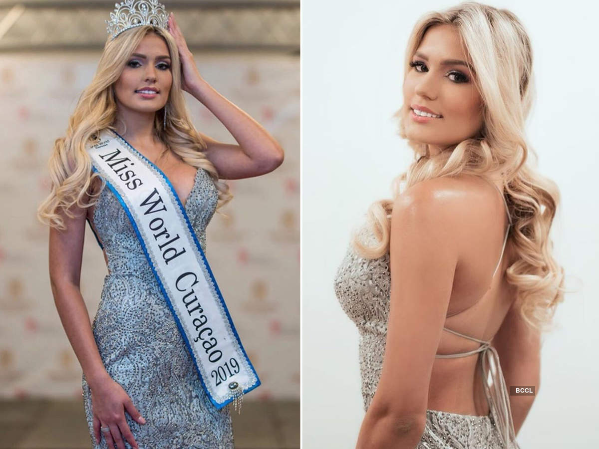 Sharon Meyer crowned Miss World Curacao 2019