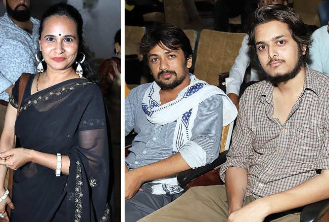(L) Alka (R) Vinay Mishra and Anuj Nigam (BCCL/ Aditya Yadav)