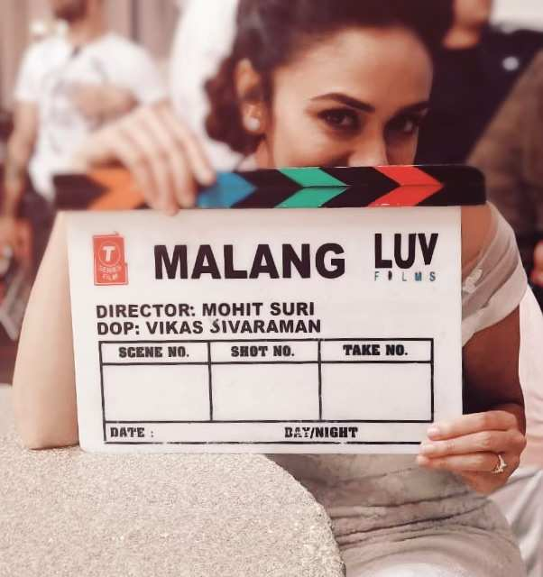 Amruta is a part of Malang, directed by Mohit Suri