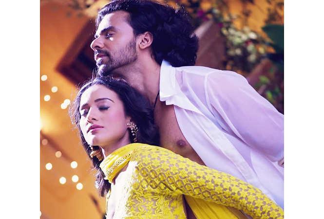 Heena Parmar and Ankit Raaj