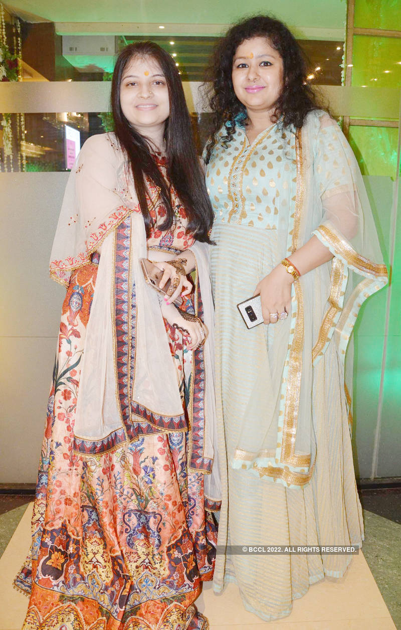 ML Agarwal hosts a party for friends and family