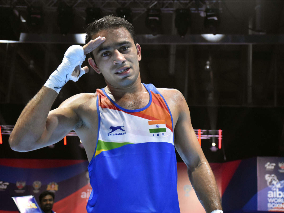 Amit Panghal reaches World Boxing Championships final