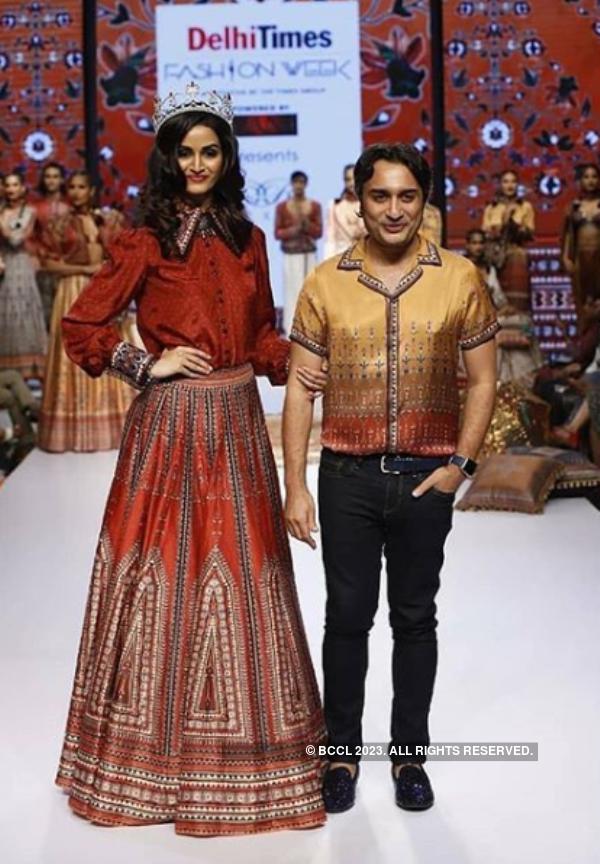 Beauty Queens at Delhi Times Fashion Week 2019