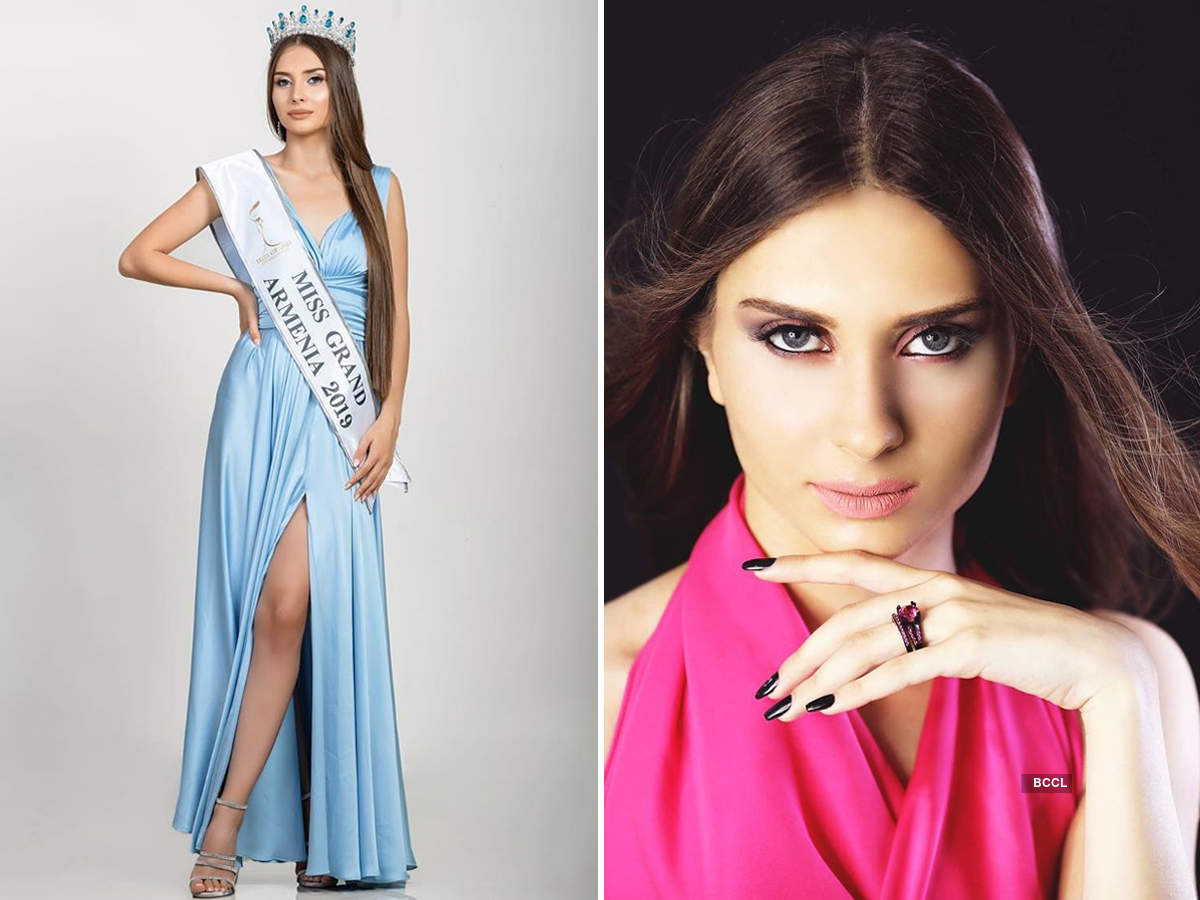 Lily Sargsyan crowned Miss Grand Armenia 2019