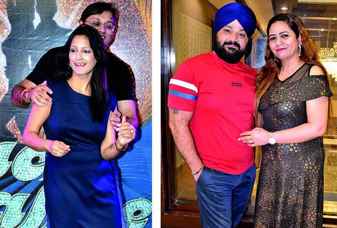 (L) Ankit and Megha Rastogi (R) Hardeep Singh and Amrit Singh (BCCL/ IB Singh)