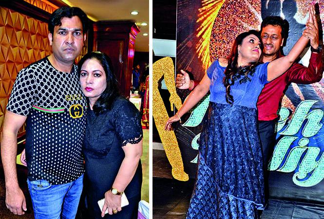 (L) Prakash and Asha Yadav (R) Ritu and Pankaj Agarwal (BCCL/ IB Singh)