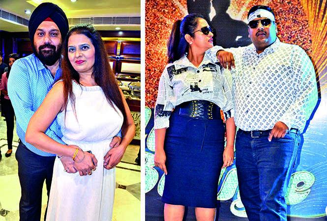 (L) Swarn and Navneet Singh (R) Swati and Anuj Dixit (BCCL/ IB Singh)