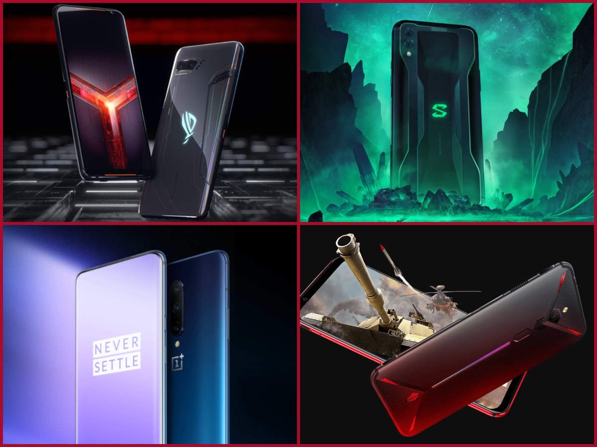 ​Asus ROG Phone II vs OnePlus 7 Pro vs Nubia Red Magic 3 vs Black Shark 2: Which is a better gaming phone