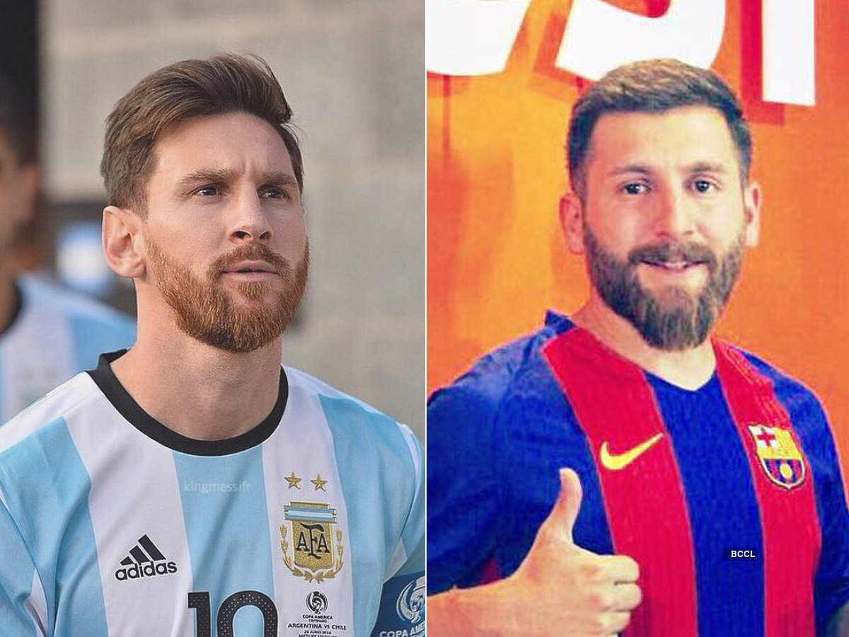 Lionel Messi's doppelganger calls himself 'Iranian Messi'