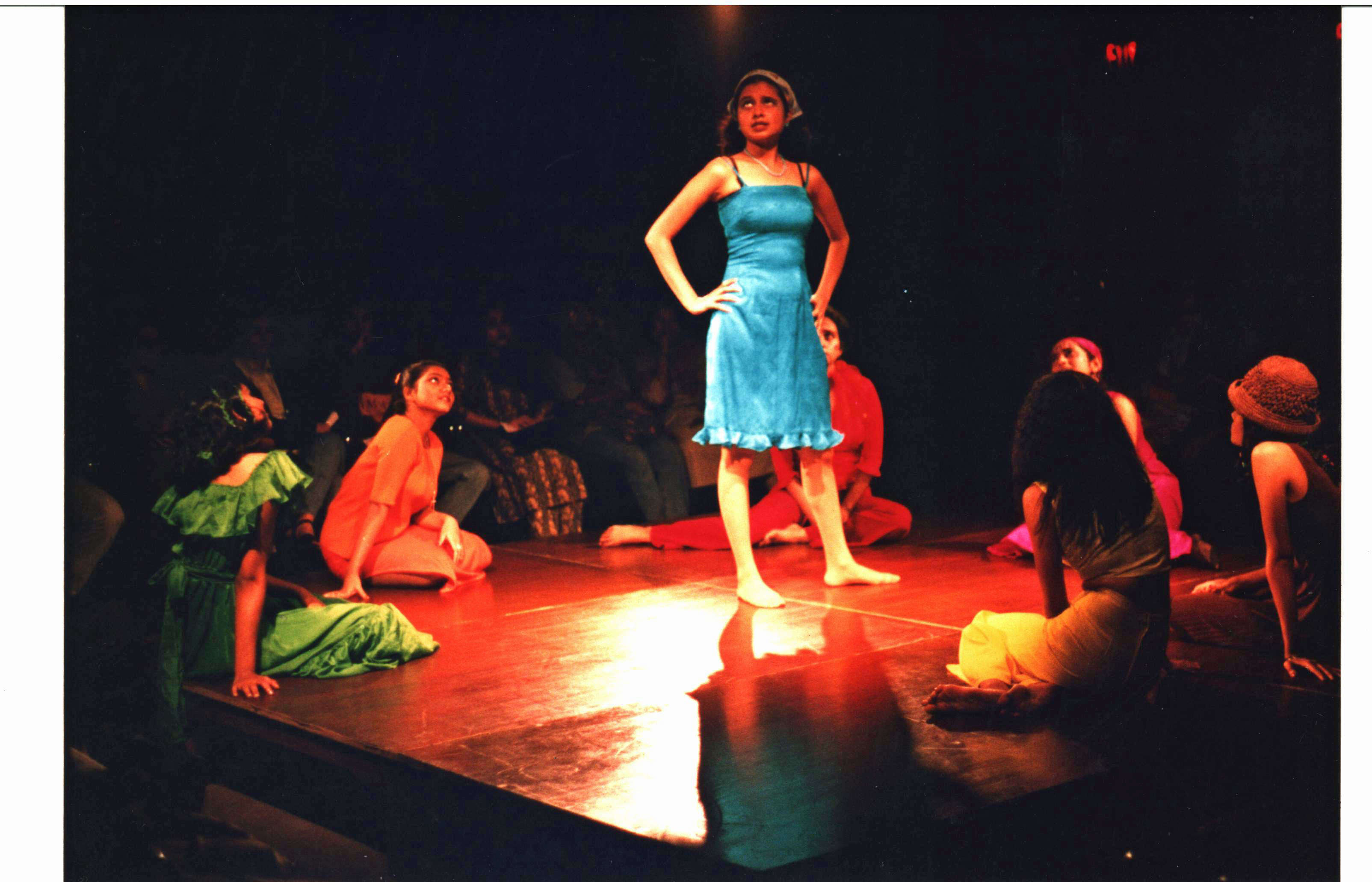 For colored girls (2001), done in the round in American Center.