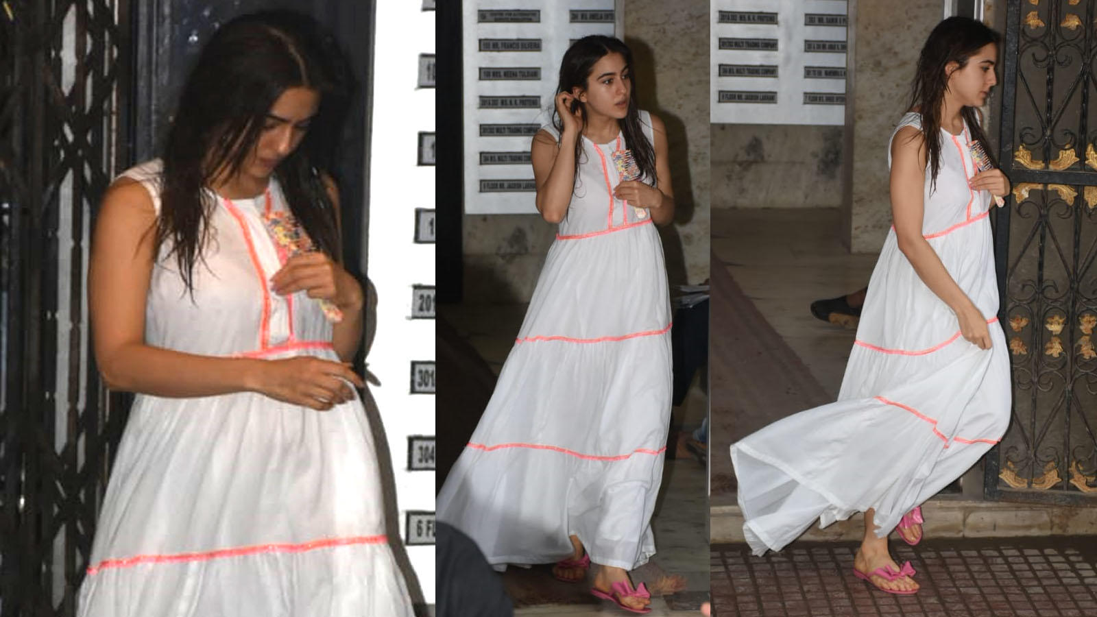 Sara Ali Khan looks ethereal in her minimal look post Pilates session