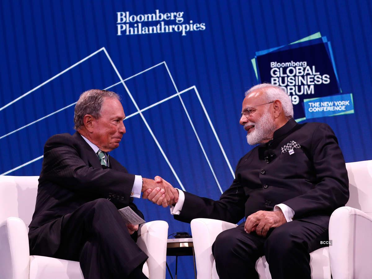 Narendra Modi invites American businesses to invest in India