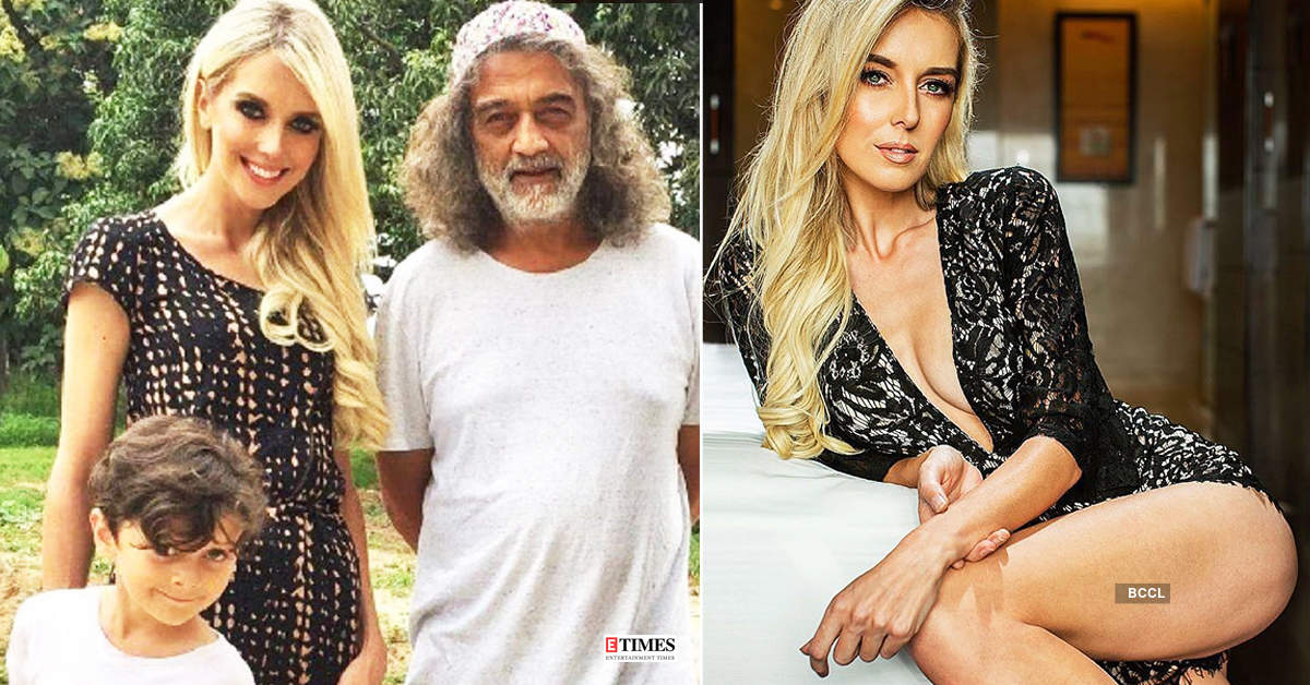 Glamorous pictures of singer Lucky Ali's third ex-wife Kate Elizabeth Hallam