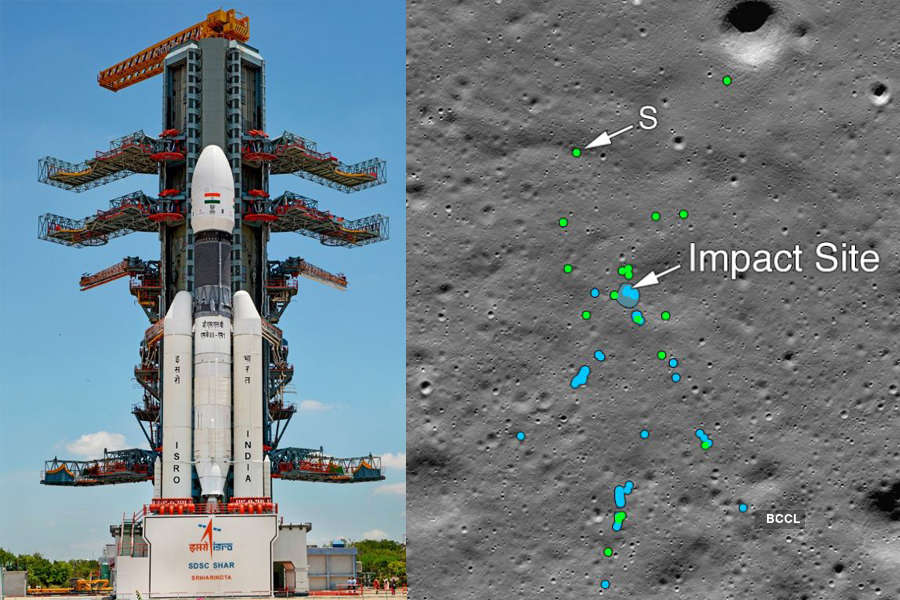 Chandrayaan 2: Nasa images show debris of Vikram lander on Moon