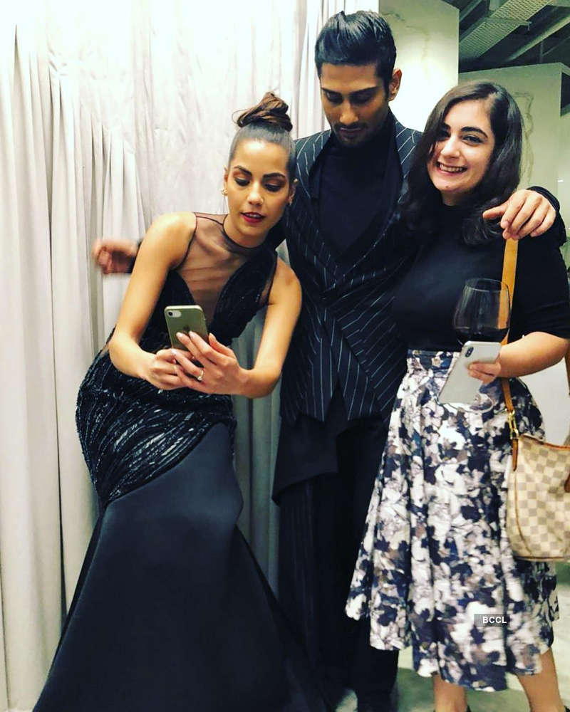 Prateik Babbar's wife Sanya Sagar ups the glam quotient with her stunning pictures