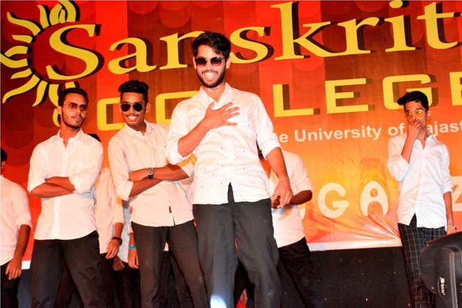 Sanskriti college Fresher Party 2