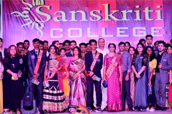 Sanskriti college Fresher Party 7