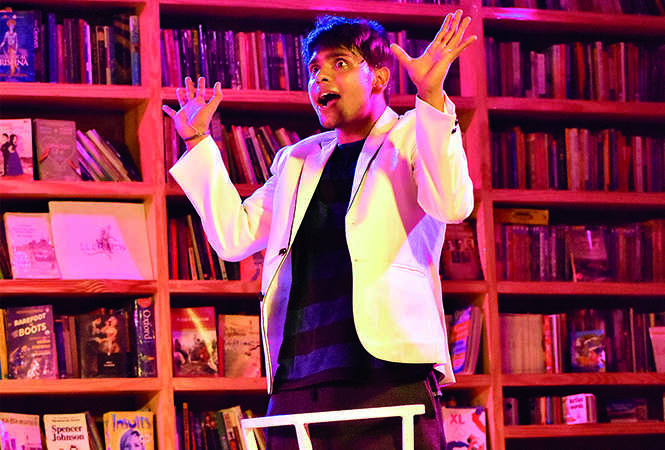 A still from the play Gigolo by Lucknowite Devang Tewari (BCCL)