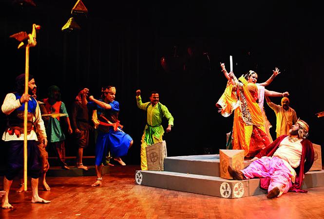 A still from the play Mach Mach Gadi (BCCL)