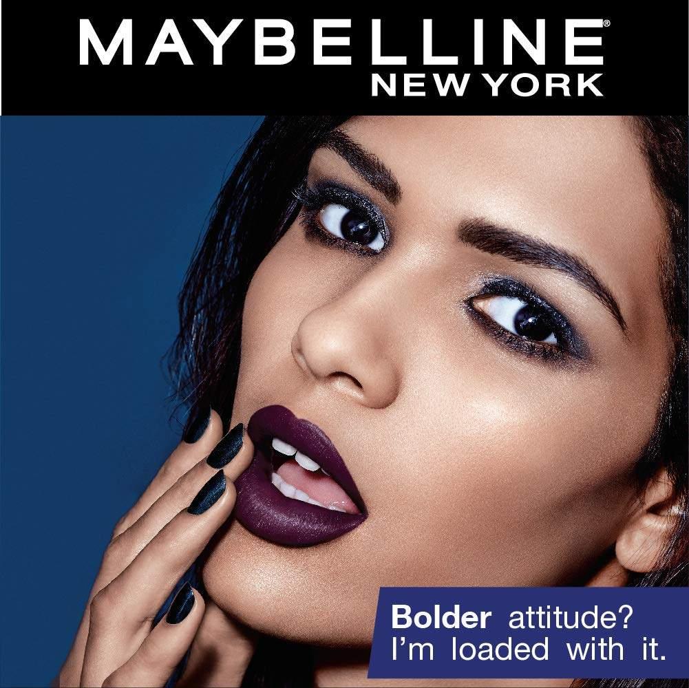Maybelline New York Color Sensational Loaded Bold Lipstick, 13 Fierce Fuchsia , 3.9g