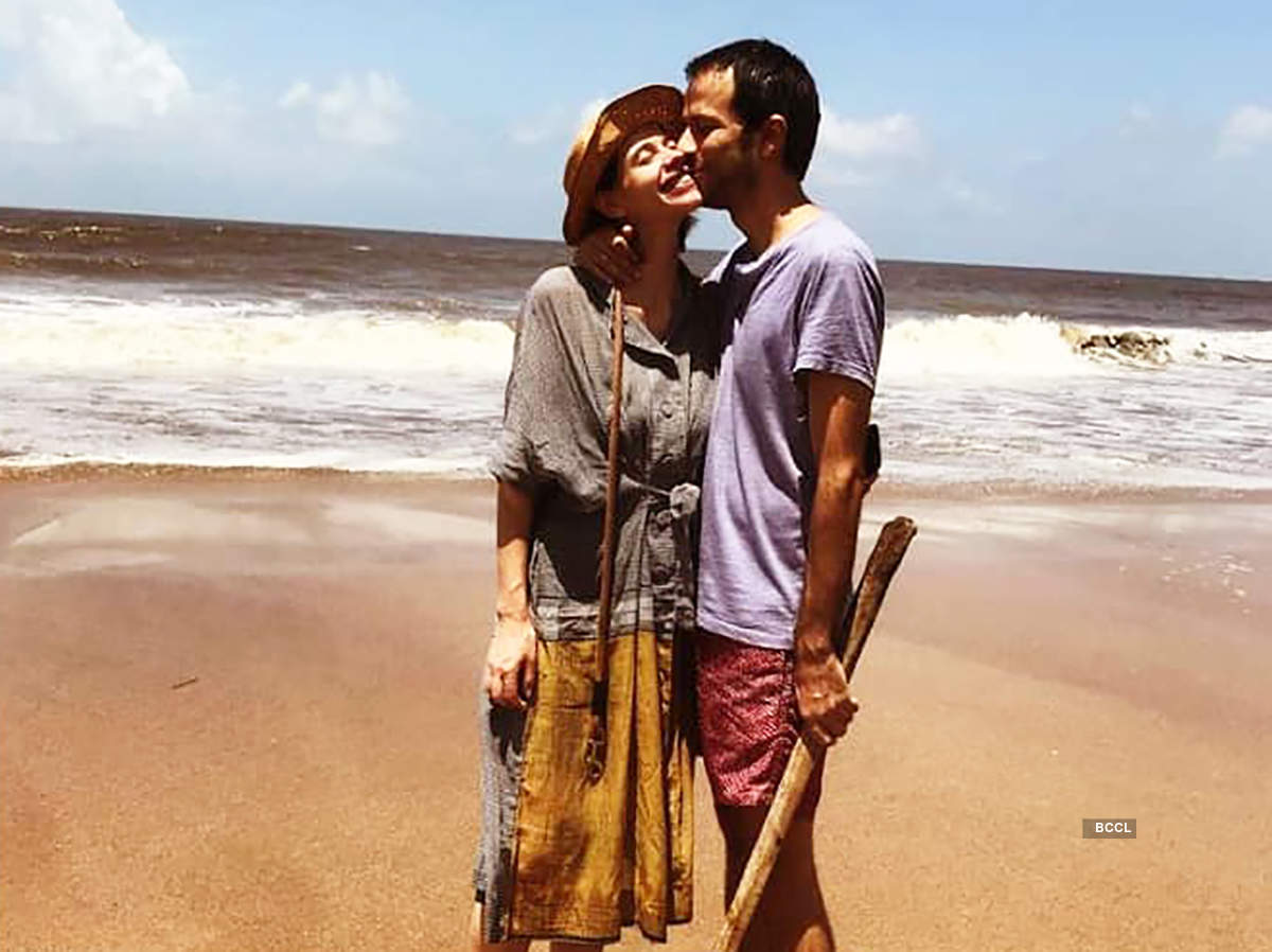 Kalki Koechlin is expecting her first child with boyfriend Guy Hershberg