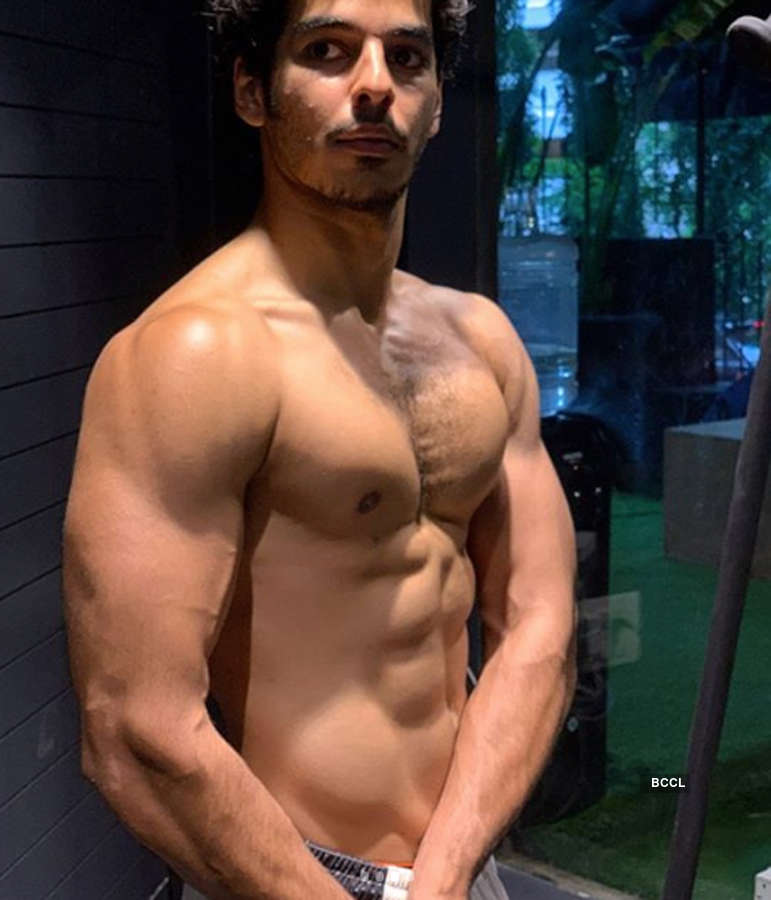 Ishaan Khatter's transformation shocks fans as he shares shirtless pics