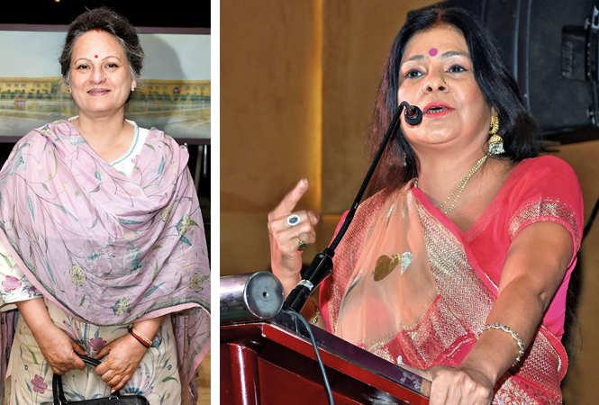 Renuka Tandon  and Malini Aawasthi  (BCCL/ Farhan Ahmad Siddiqui)