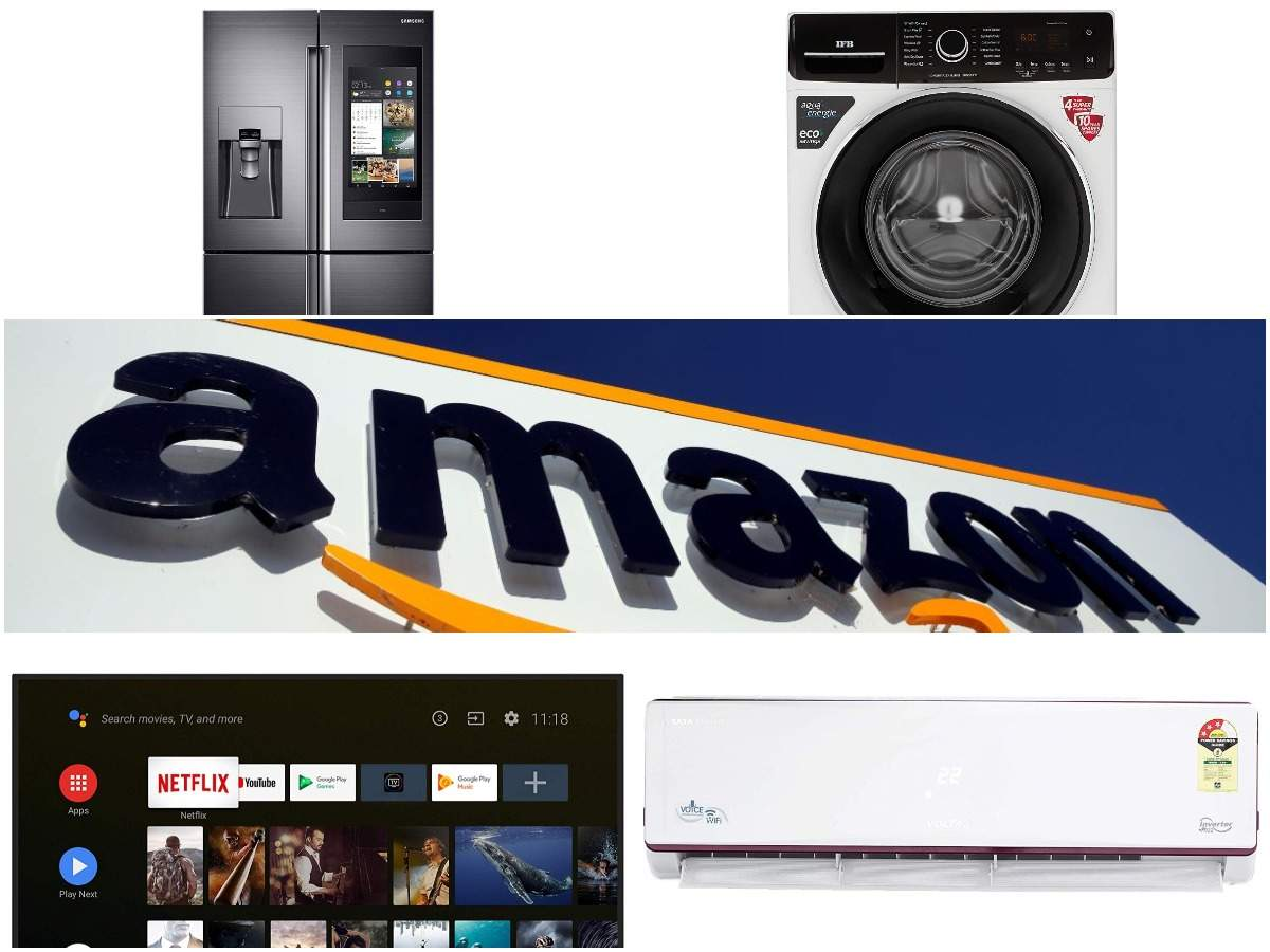 Amazon Great Indian Festival sale: 10 smart fridges, washing machines, TVs available at a discount of up to Rs 90,010