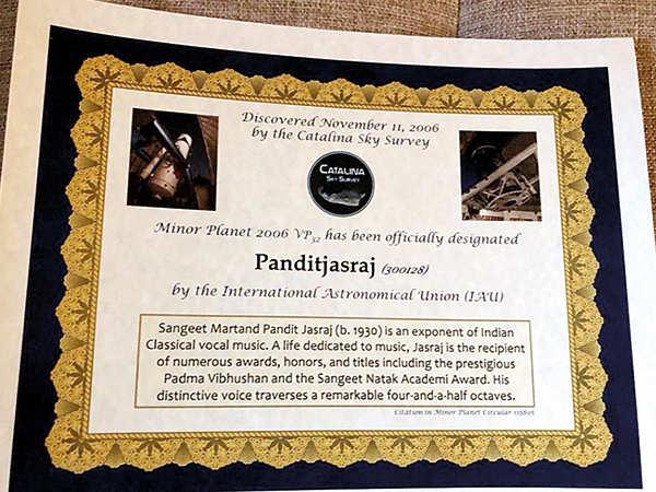 Pandit Jasraj: This honour belongs to our divine Indian
