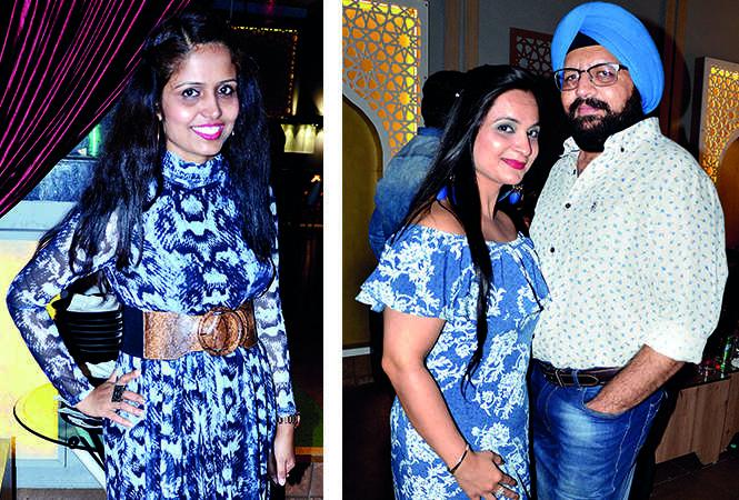 (L) Pamela Dutta (R) Rimple Arora and Chanpreet Singh (BCCL/ AS Rathor)