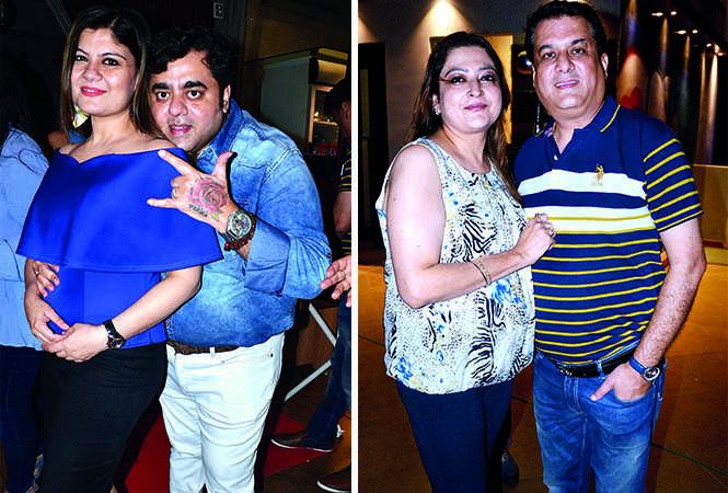 (L) Rohini and Rahul Thakur (R) Shemona and Mayank Kohli (BCCL/ AS Rathor)
