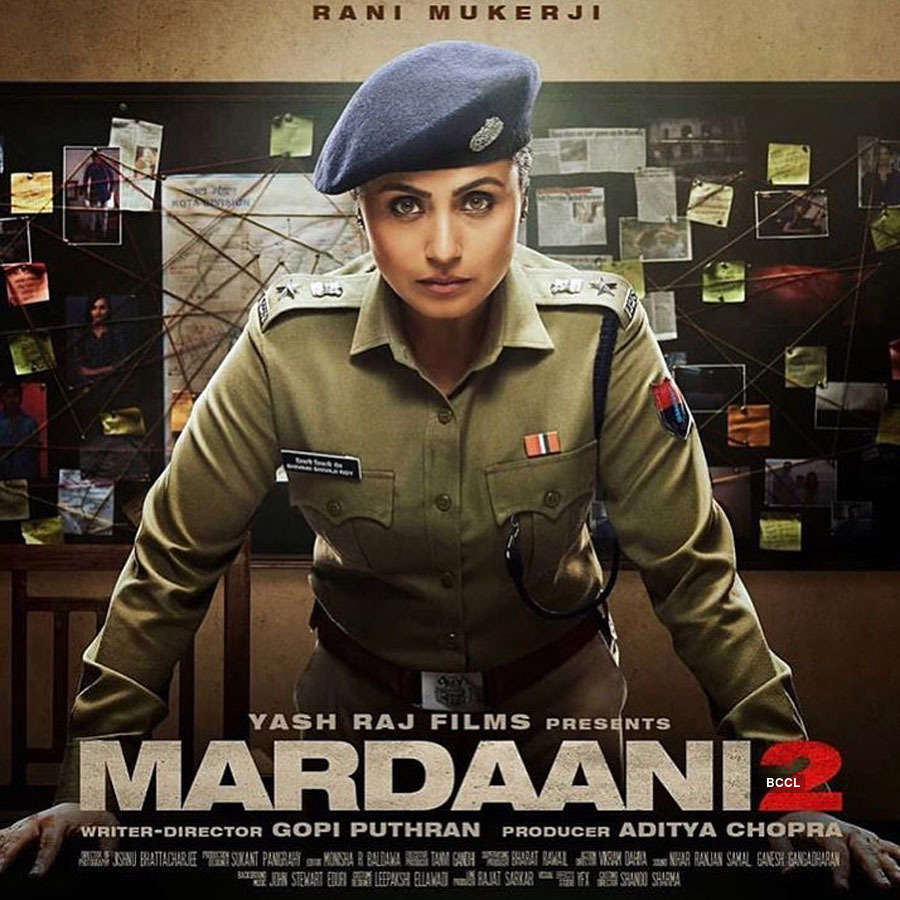 Rani Mukerji is back as a fearless cop in 'Mardaani 2'