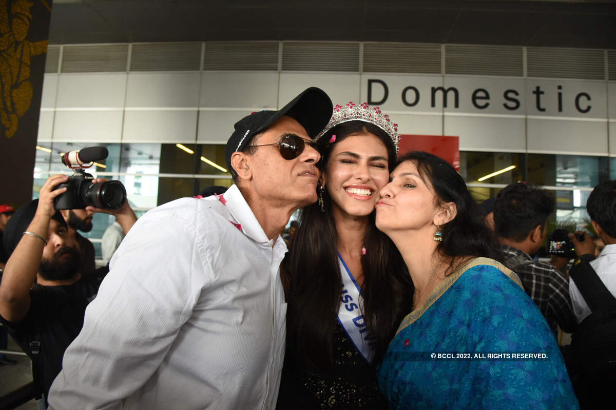 Miss Diva Supranational 2019 Shefali Sood's Homecoming