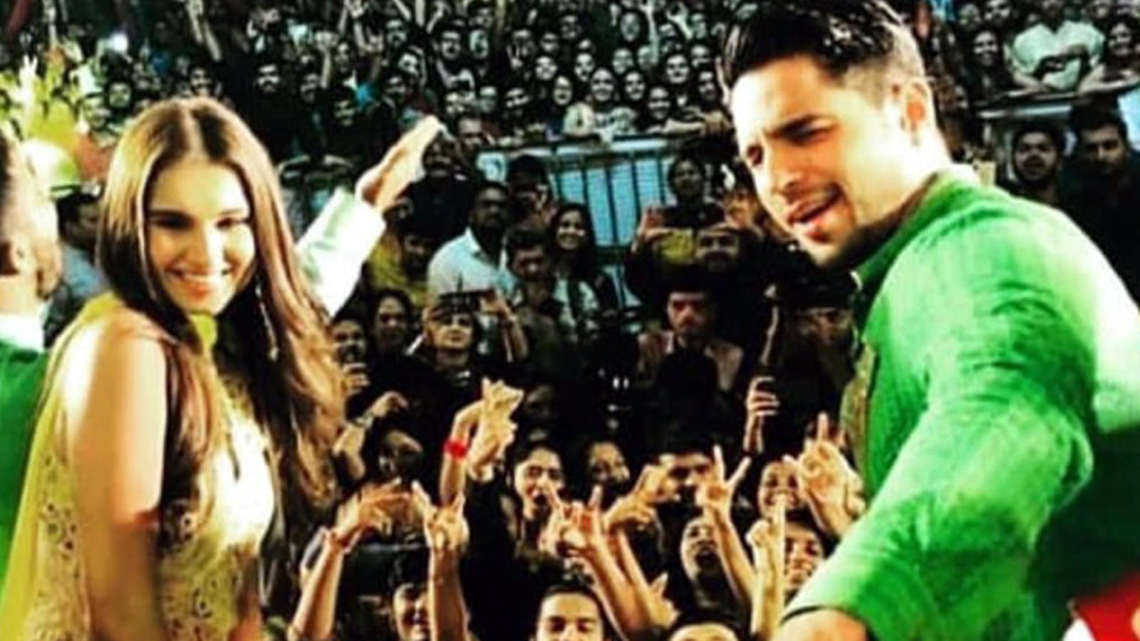 Sidharth Malhotra and Tara Sutaria's garba moves are winning hearts!