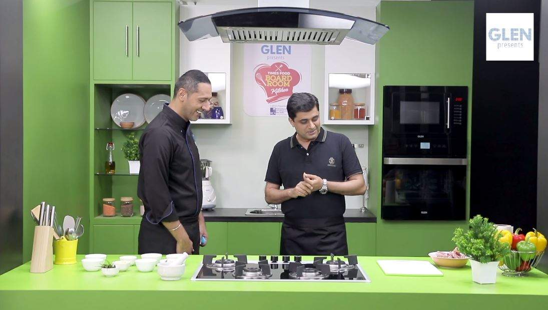 Times Food Boardroom Kitchen: Cooking Chicken Pro with Devendra Chawla, MD & CEO, Spencer's Retail