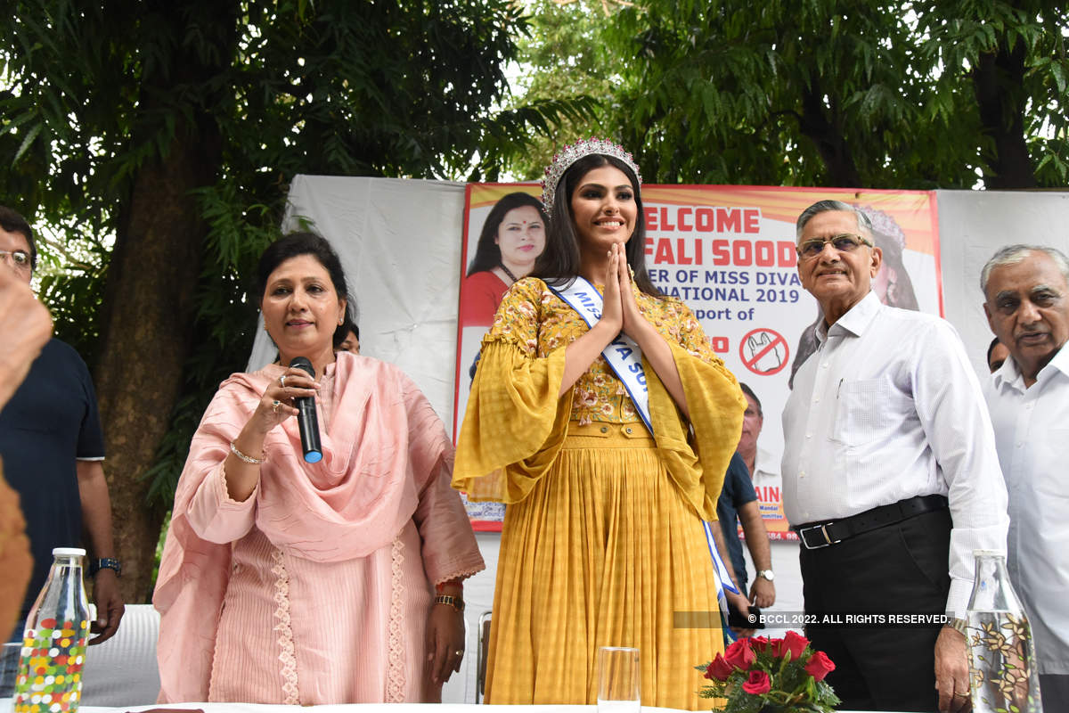 Shefali Sood spreads awareness on climate change