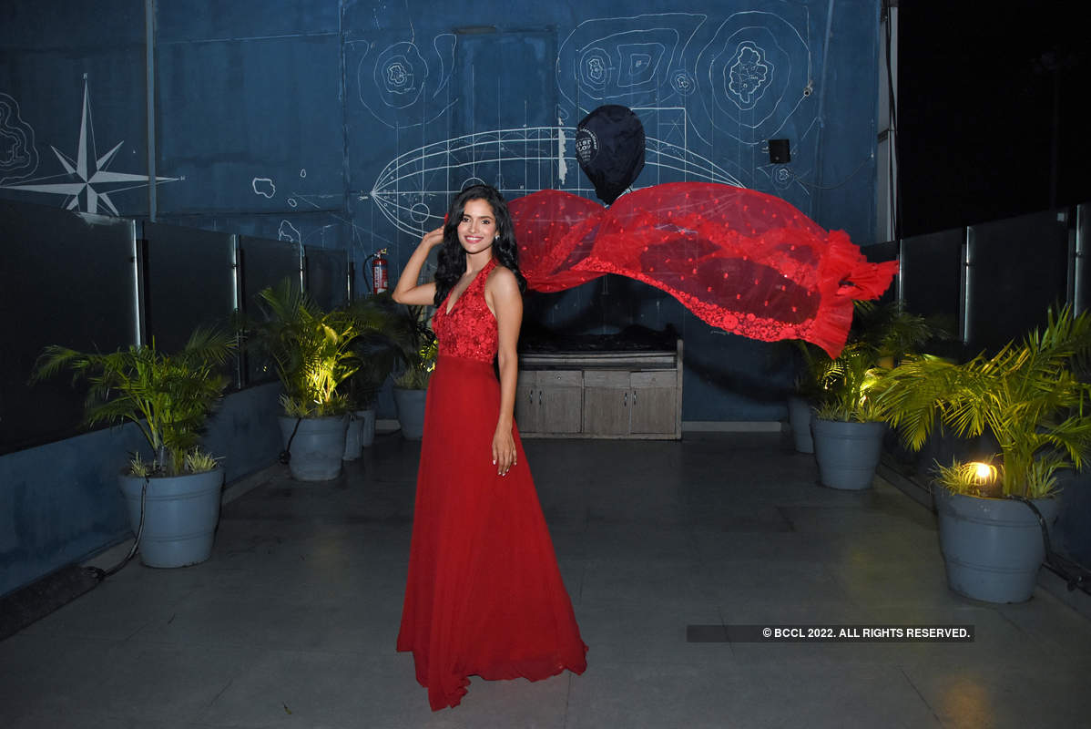Vartika Singh's success party in Lucknow