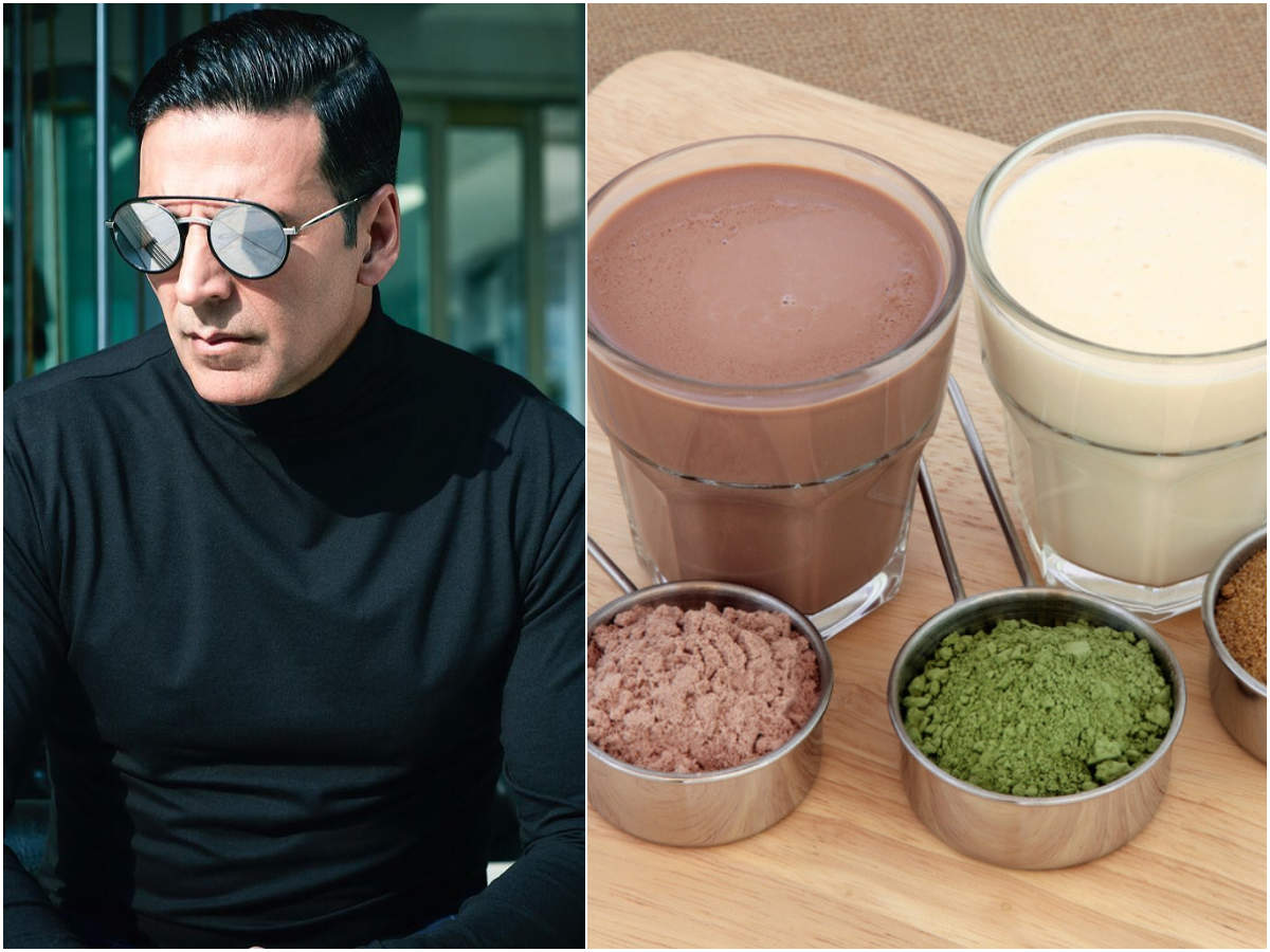 Akshay Kumar is totally against protein shakes and supplements. Here's why  | The Times of India