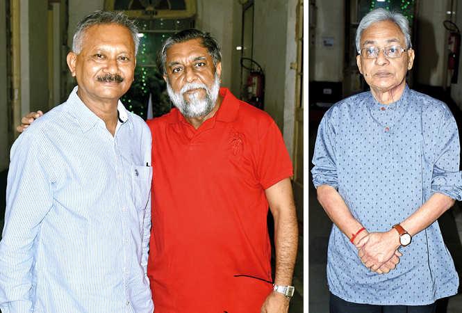 (L) Pradeep Ghosh and Narendra Panjawani (R) Urmil Kumar Thapliyal (BCCL/ Vishnu Jaiswal)