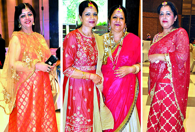 (L) Dimpi Khanuja (C) Geetu Matani and Arpita Sanjeeda (R) Inderjeet Kaur (BCCL/ AS Rathor)