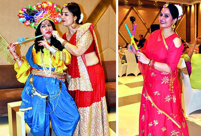 (L) Shippy Arora and Teena Arora (R) Roli Bhatia (BCCL/ AS Rathor)